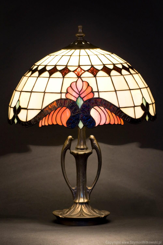 mid century lampe lampe vitrail lampe de chevet art. Black Bedroom Furniture Sets. Home Design Ideas