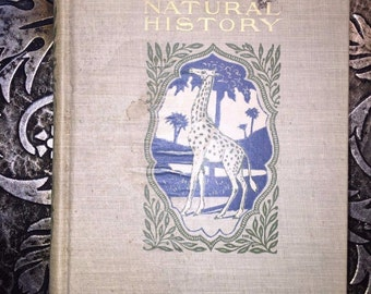 A Book of Natural History, Thomas B. Aldrich, Vol XIV of Young Folks' Library