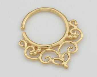 Cartilage earring. helix hoop. tiny hoops. minimal earrings. gold cartilage hoops. cz hoop earrings. huggie earrings. gold huggie earrings