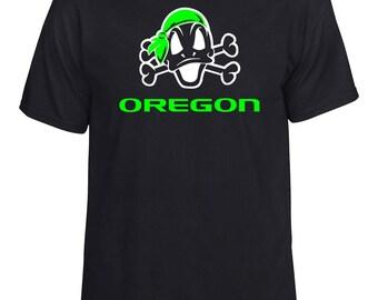 Oregon Ducks Duck N Crossbones Shirt