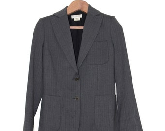 Vintage Paul & Joe Grey Pinstripe Blazer