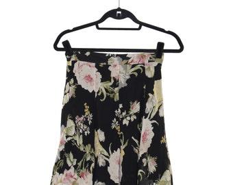 Vintage Sweet Printed High Waisted Mini Skirt