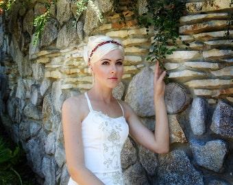 flower girl headband, flower girl headpiece, flower girl hairpiece, flower crown, wedding flower crown, bridal headpiece, flower headpiece