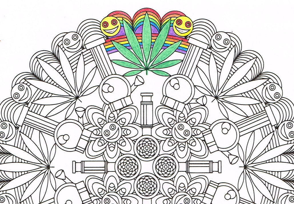 zoom - Adult Coloring Pages Mandala