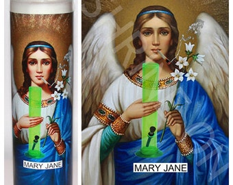 Mary Jane Prayer Candle