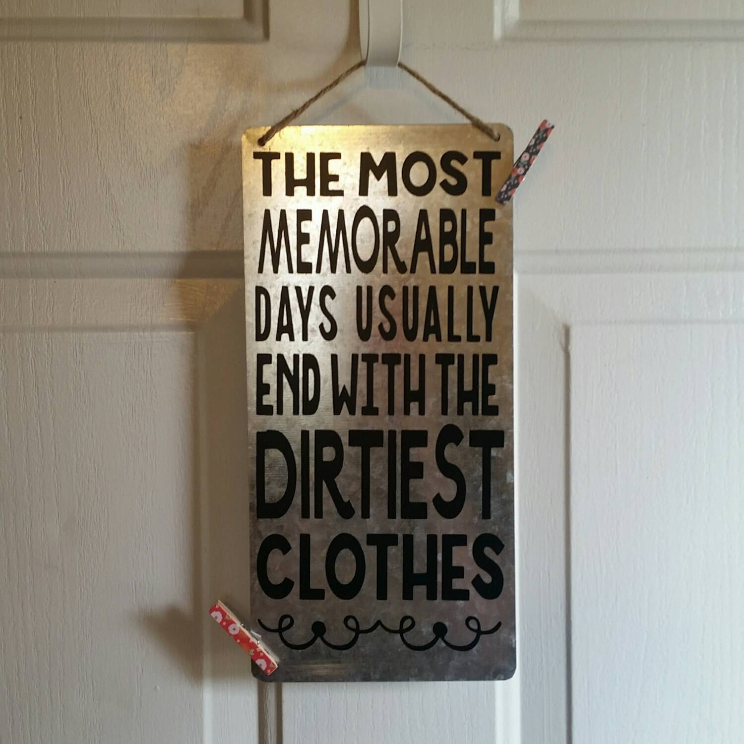 Clothes Wash Signs: Dirty Clothes Laundry Room Sign By JennsUniqueWreaths On Etsy