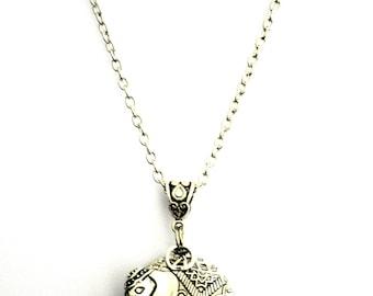 Exquisite Elephant - Adult Essential Oil Diffuser Necklace