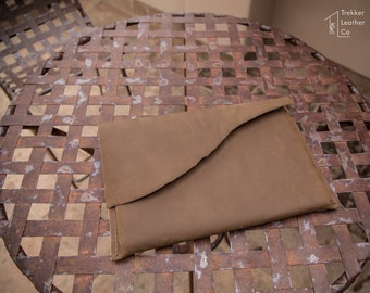 Leather Laptop Sleeve   Rustic Laptop Sleeve   Handmade in the U.S.A.