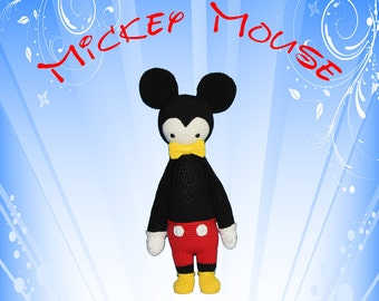 MICKEY Mouse (Lalylala Modification) INSTANT DOWNLOAD