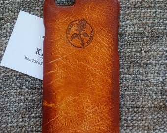 iPhone 6, 6s leather case 'Old BritTan'
