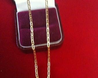 """14 K Yellow Gold Beautiful Chain 16"""" Long. 2.3 gm."""