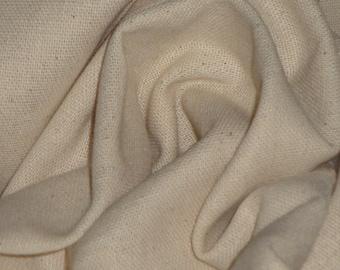 "Osnaburg Fabric Natural , Roc-Lon Unbleached 44/45"" PreShrunk Permanant  Press"