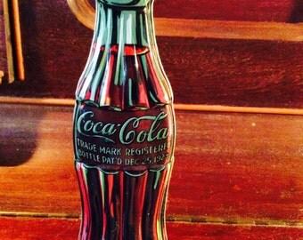 Trade mark coca cola tin box