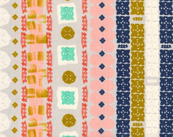 Cotton+Steel Paper Bandana - Paper Cuts Earth Quilting Cotton