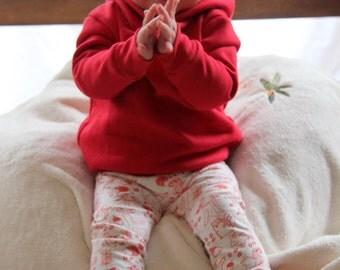 Baby hoodie/leggings set - Made to order