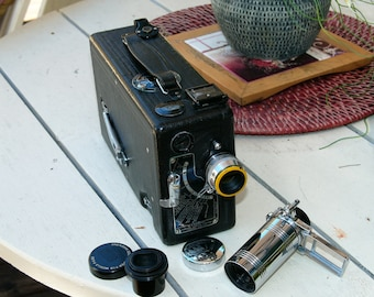 vintage cine' kodak movie camera