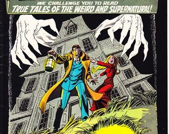 Ghosts 10, Horror comic book, Berkeley, Weird Skeleton, Scary Nightmare. Tales of Fear, Terror, Creepy. 1972 DC Comics in VF (8.0)