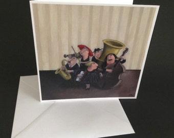 Greeting card» Chamber music»