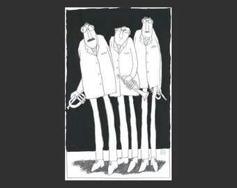 Giclée Trompet-Trio