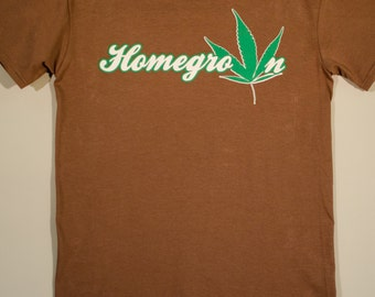 Stoner Gift Cannabis Weed Grow Op T, Homegrown Legal Marijuana, 420 pot leaf, Local Pot Pothead shirt, herb Ganja dealer