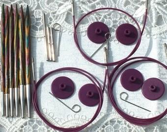 Symfonie Wood STARTER Interchangeable circular needle set  KnitPro 20604