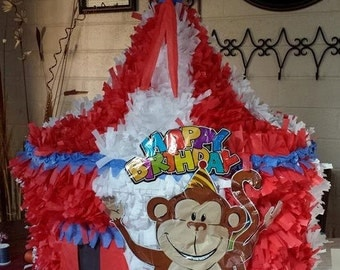 Carnival, Circus Tent Pinata, customized, personalized