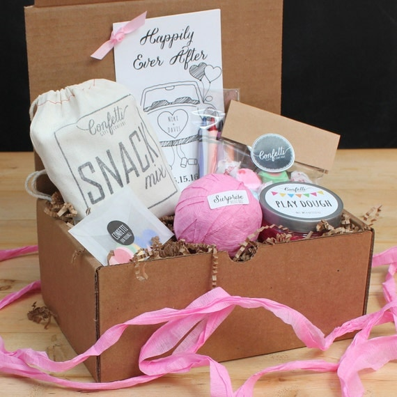 Kids Wedding Box // Kids Wedding Favors // Kids Activity Box // Kids Table Box // Wedding Coloring Book // Surprise Ball Wedding Favors