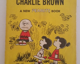 But We Love You Charlie Brown 1962 Vintage Paperback