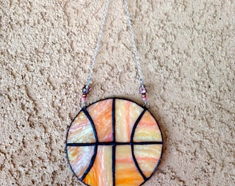 Stained Glass Basketball