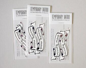 team GROOM temporary tattoos 1 packet 2 tattoos wedding tattoo wedding favors bachelor party tattoo groomsmen tattoo