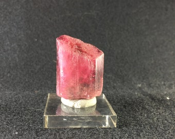 15.58 grams Red & Pink Tourmaline Crystal from Cruzeiro, Brazil Odd Wedge Shape Warrior Crystal