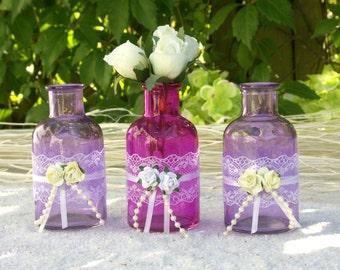 Charming Pink Flower Vase
