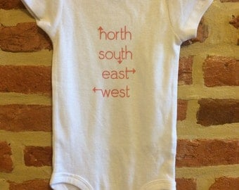 North South East West Onesie