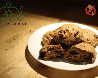 Devious Dark Chocolate Cherry Cookies *Gluten Free!*
