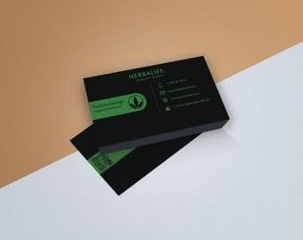 Herbalife Business Card Digital Download