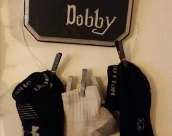 Save Dobby Sock Hanger