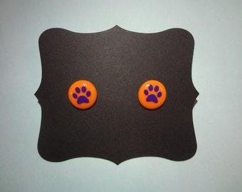 Clemson Tigers Earrings