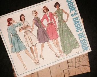 Vogue Basic Design Pattern - 1017 - 1970s