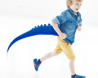 Blue Dragon Tail, X-mas gift, dragon costume, dinosaur costume, cosplay, photography prop, Christmas Gift
