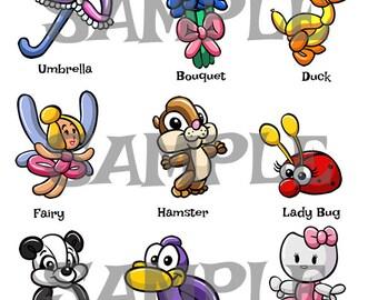 Balloon Animal Menu 3