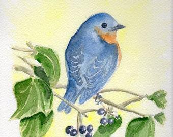 Fine Art Giclée Watercolor Print