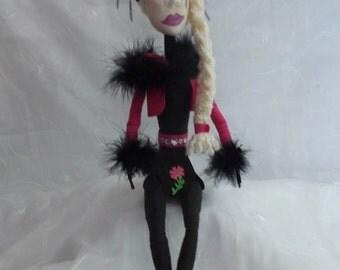 OOAK Doll  Natasha a blue eyed blond.
