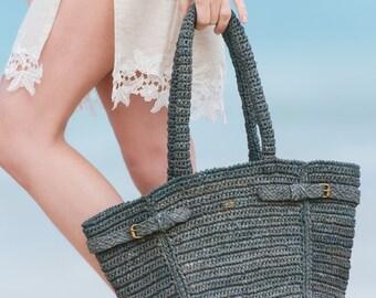 Handmade straw bags