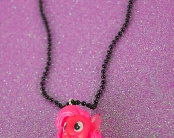 Kawaii Fairy Kei Pastel Goth My Little Pony Charm Necklace