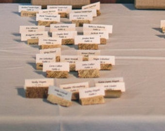 Wine Cork Place Card Holders (50)