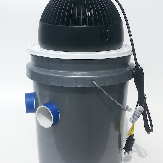 5 Gallon Bucket Air Conditioner 3 Pvc Ports By