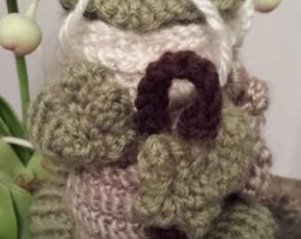Wise Old Turtle Crochet Pattern