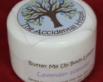 All Natural Homamde Butter Me Up Body Lotion by The Accidental Hippie