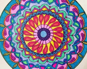 Mandala to Color