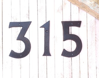Modern house numbers etsy for Big modern house numbers